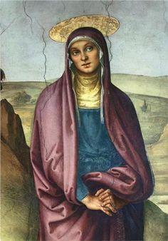 The Pazzi Crucifixion (detail 1) - Pietro Perugino