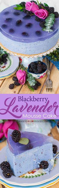 I'm back today with another epic mousse cake, cheesecake creation! This show-stopping, elegant no-bake blackberry lavender mousse cake will steal your heart and taste buds! It's packed with incredible berry flavor and a hint of lavender. It's also incredibly creamy and fluffy; every bite melts in your mouth like a cloud! In one word, this […]