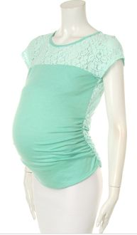 Cute affordable maternity top $27.99!
