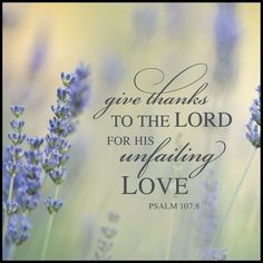 #Scripture                                Psalm 107:8