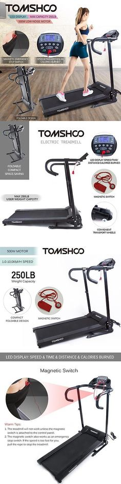 Treadmills 15280: Tomshoo 800W Motorized Folding Electric Treadmill Jogging Machine Home Gym New -> BUY IT NOW ONLY: $178.85 on eBay!
