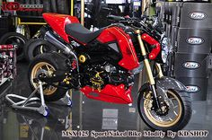 Honda Grom/MSX125 Aftermarket Support is CRAZY! - Honda Grom Forum