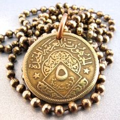Syrian coin necklace. LOVE <3