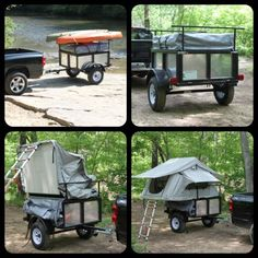 Awesome Camping Trailer only $2,999- email backroads@rocketmail.com for more info!  Roof Top Tent - RTT - Tent Trailer - Popup - teardrop