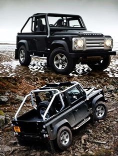 I think I would enjoy this Land Rover Defender more than any sports car.