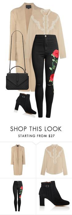 """""""My mood"""" by lseed87 ❤ liked on Polyvore featuring Alexander Wang, Chloé, Tabitha Simmons and Yves Saint Laurent"""
