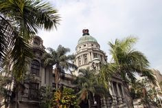 Durban City Hall and palm fronds Natural Science Museum, Durban South Africa, City By The Sea, Kwazulu Natal, Science And Nature, Holiday Destinations, Tourism, Activities, Explore