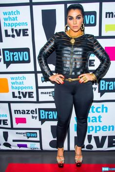 ASA SOLTAN RAHMATI - Pants: J Brand, Shoes: Versace, Necklace: Versace, Jewelry: designed by Asa