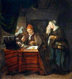 Metsu, Gabriel (b,1629)- Banker's Cold Heart