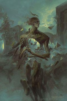 Angelarium: Emanations on Behance