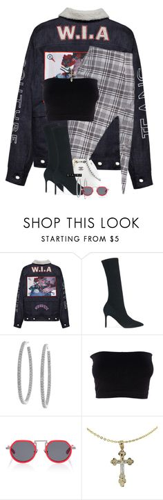 """""""Untitled #427"""" by nyashaa ❤ liked on Polyvore featuring adidas Originals, Sterling Essentials and Rosie Assoulin"""