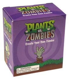 Plants vs. Zombies Raise Your Own Zombie Lot 2 Book Stocking Stuffer Gift