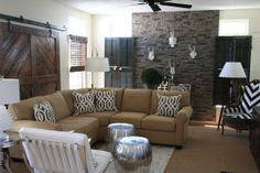 Country ..ethnic living room