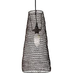Enhance the rustic appeal of your style with the vintage metallics on the wire Tesla Pendant Light, Small from Rouge Living. Wire Pendant Light, Small Pendant Lights, Black Pendant Light, Temple Of Light, Metal Canopy, Homewares Online, Coastal Style, Chandelier Lighting, Lamp Light
