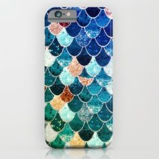 Mermaid IPhone 6 Slim Case $35.00 www.mermaidhomedecor.com - Mermaid Tech