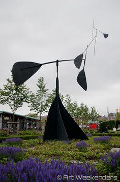 Alexander Calder in #Rijksmuseum Garden http://blog.artweekenders.com/2014/06/19/calder-rijksmuseum/ #Amsterdam #art