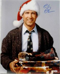chevy chase signed national lampoons christmas vacation 16x20 photo itp psa ebay - Christmas Vacation On Tv