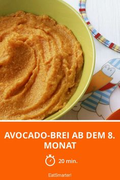 Avocado-Brei ab dem 8. Monat