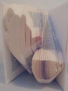 Book Folding Pattern  Teapot & Cup  314 Folds by CraftyHana £3