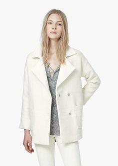 Mantel aus Baumwoll-Jacquard