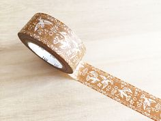 mt Washi Tape  - Lace Bird (1 pc) Japanese Stationery Masking Tape Deco Tape T0084 / 106 by TinyBees on Etsy