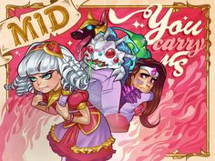 League of Legends Valentine's day cards: MID