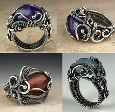 Wire-Woven Free-Form Ring - Bead&Button Show