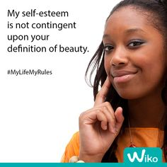 What does beauty mean to you? #MyLifeMyRules #Wiko