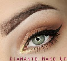 """Inspired Make up"" by Diamante MakeUp using Makeup Geek eye shadows in Glamorous, Shimma Shimma, Cosmopolitan, and Hipster."