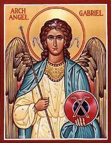Gabriel, Patron Saint of communication.