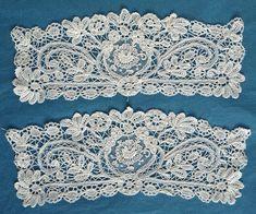 Antique Vintage Brussels Duchesse Lace and Point de Gaze Lace Cuffs   eBay: