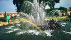 18 отметок «Нравится», 1 комментариев — Alina Fedorova (@alina.fedorova_3) в Instagram: «Радуга😻 • #радуга #фонтан #rainbow #peterhof #петергоф #псков #followme»