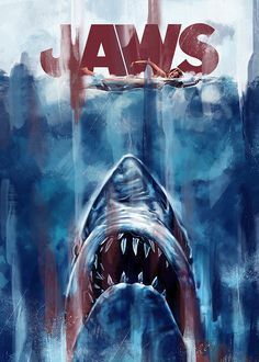 Jaws Board Game for - A Game of Strategy and Suspense - Retha Eyckelbeck Horror Posters, Horror Films, Horror Art, Movie Posters, Artwork Images, Cool Artwork, Jaws Movie, Jaws 3, Good Movies To Watch