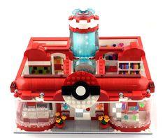 LEGO Ideas - Pikachu's Pokemon Center Visit!