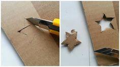 How to make a lamp / lampshade. Diy Cardboard Lamp Shade - Step 5
