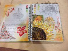 Natural forms a level art sketchbook, sketchbook layout, sketchbook ideas, natural forms gcse A Level Art Sketchbook, Sketchbook Layout, Textiles Sketchbook, Sketchbook Ideas, Sketchbook Drawings, Art Journal Pages, Art Pages, Art Journals, Natural Forms Gcse