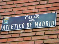 Calle del Atlético de Madrid