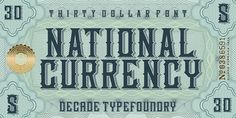 Design Work Life » Type Love: National Currency