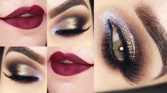 Tutorial – maquiagem com Vult aplicando pigmentos (make que ensinei no Workshop)
