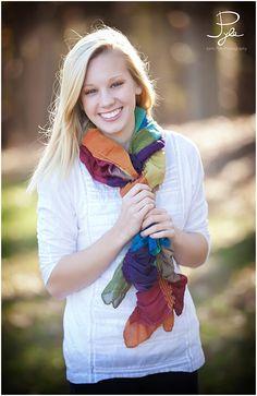 scarf,smile