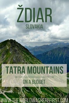 Ždiar, Slovakia is an oasis tucked high up in the Tatra mountains. A perfect destination for budget skiing in the winter and beautiful hiking and trekking in the summer! Located almost equidistant between Kraków and Budapest, Źdair makes a perfect stop on any central Europe trip if you're looking to get off the beaten path!