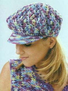 crochet beret for girls - crafts ideas - crafts for kids 58958f7ae361