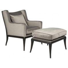 Florence+Salon+Chair+with+Ottoman