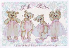 Teddy Bear Ballerinas pattern,just love them