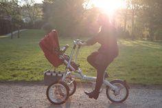 Kinderwagen-Fahrrad von Beisier | MoMe + Bikes