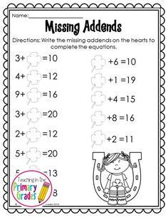 St. Patrick's Day Math and Literacy Printables-No Prep