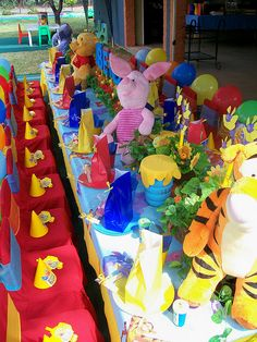 100 Acre Woods pooh party