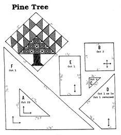 Pine Tree Quilt Pattern