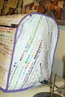 Selvage Blog: Kim's Selvage Sewing Machine Cover* this woman's blog is amazing.  she makes most anything from selvage