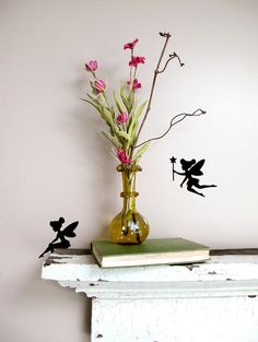 #Tinkerbell wall decal